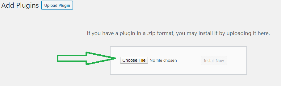 How to upload wordpress plugins