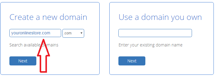 register your domain with bluehost and get it for free