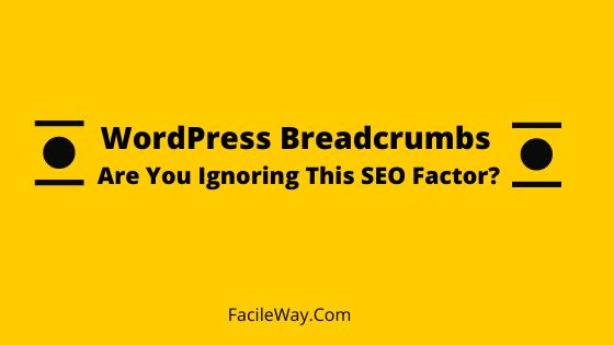 WordPress Breadcrumbs