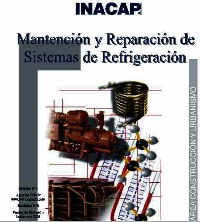 LIBRO GRATIS INACAP MANTENCIÓN Y REPARACIÓN DE SISTEMAS DE REFRIGERACIÓN