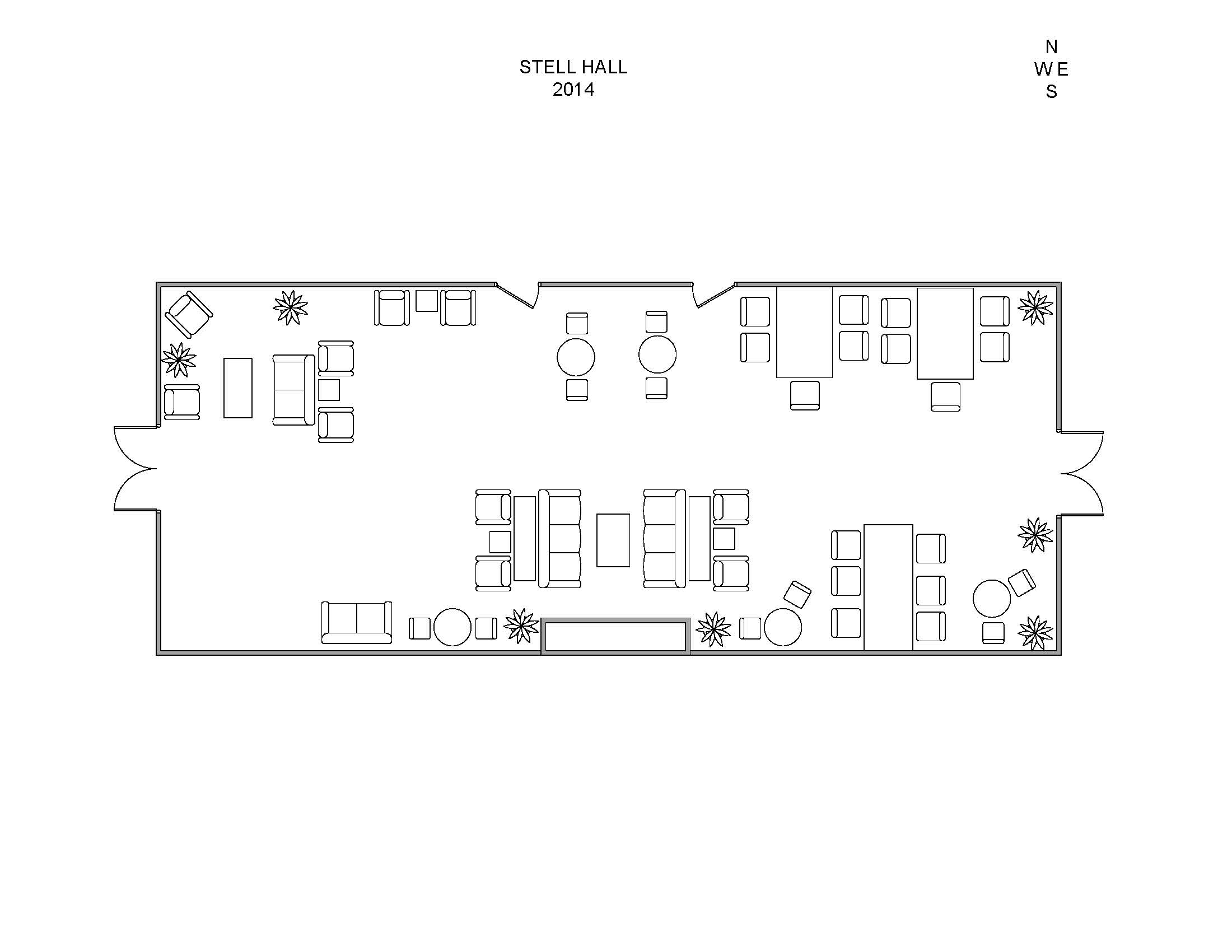 Tuck Events & Facilities :: Stell Hall Diagrams