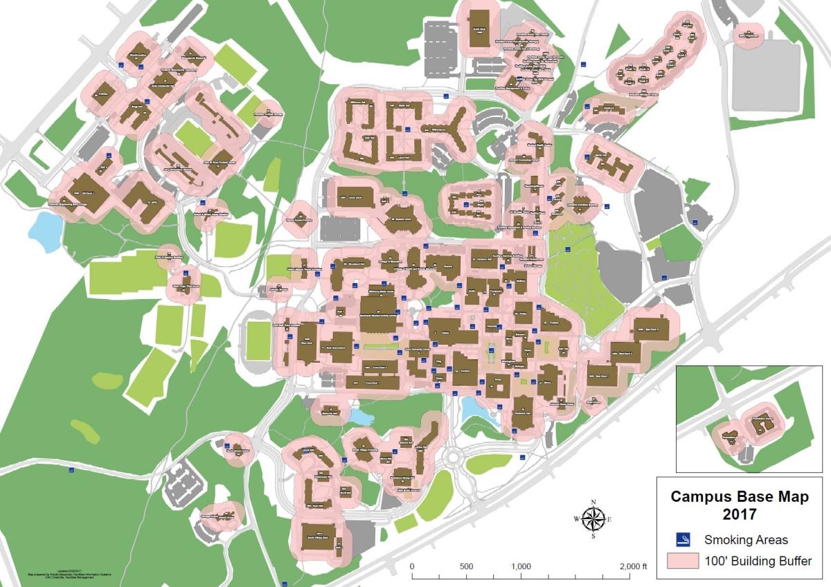 Uncc Campus Map Printable
