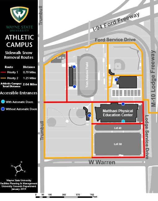Wayne State University Campus Map : wayne, state, university, campus, Removal, Manual, Facilities, Planning, Management, Wayne, State, University