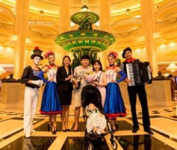 The Parisian Macao Welcomes First Guest