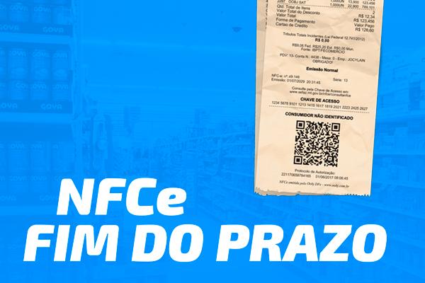 FIM DO PRAZO PARA IMPLANTAÇÃO DE NFC-E