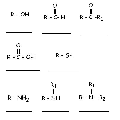 Write the name of the organic compound on the line.