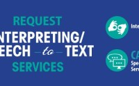 Request Interpreting/Speech to Text Services