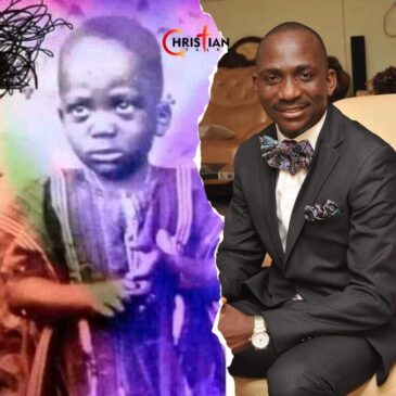Paul enenche as a child throwback pic