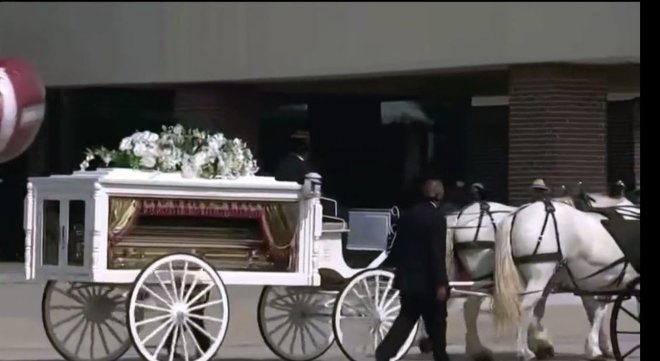 George Floyd Burial Funeral photos