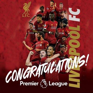 Liverpool Champions of Premier League