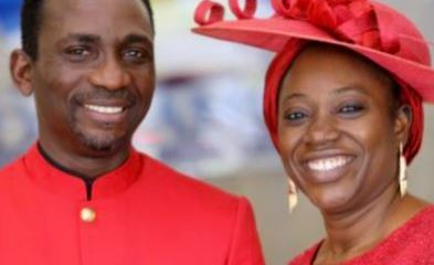 Paul Enenche and Becky