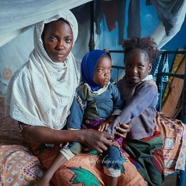 Blue Eyed Kwara mother Nigeria