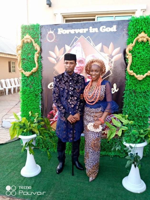 michael orokpo wedding pics