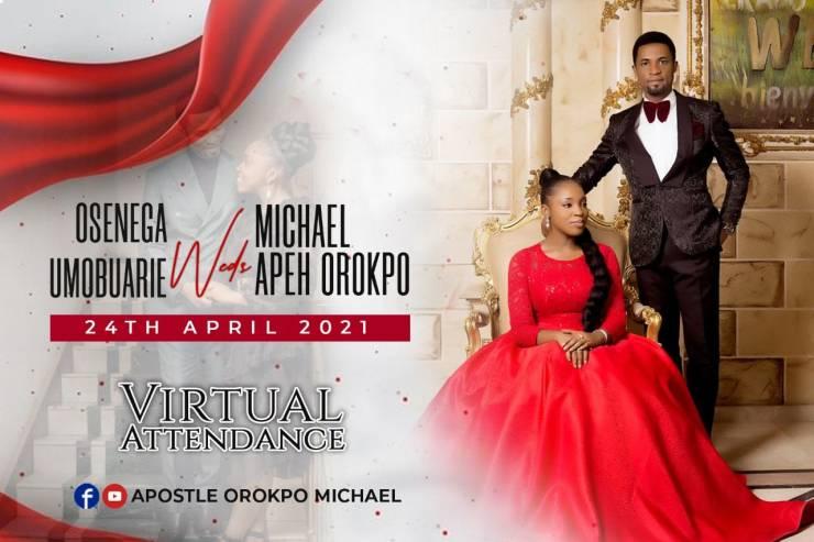 osenaga and michael orokpo wedding pics