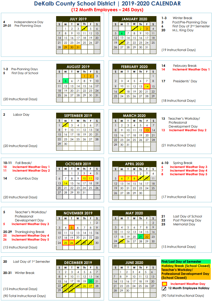 Uf Summer Break 2020.Nyc School Calendar 2020 21