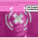 No evidence APC thugs attacked Mrs. Atiku in Ibadan