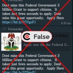 Viral post on FG giving out grants to support Nigerians is a hoax