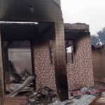 How genuine are pictures of burnt houses in Igangan, Oyo State?