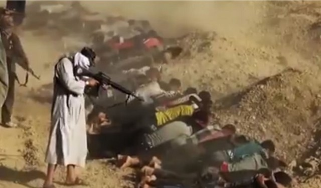 Photograph from the third frame was an extension of the Shiite Military incident in Tikrit, Iraq in 2014