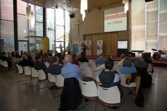 FactCheckNI launch event. Skainos Centre, Belfast, Northern Ireland. (c) Kevin Cooper Photoline