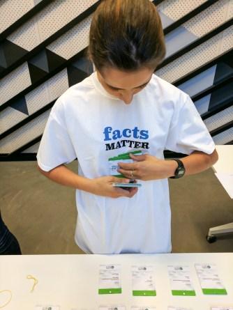 Fact Matter. Global Fact 4 conference, Madrid, Spain. #GlobalFact4 @factchecknet @Poynter @ReportersLab (c) Allan LEONARD @MrUlster