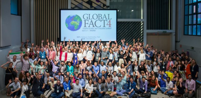 Global Fact 4 conference, Madrid, Spain. #GlobalFact4 @factchecknet @Poynter @ReportersLab (c) Mario GARCIA