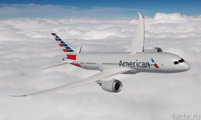 American Airlines Boeing 787-8