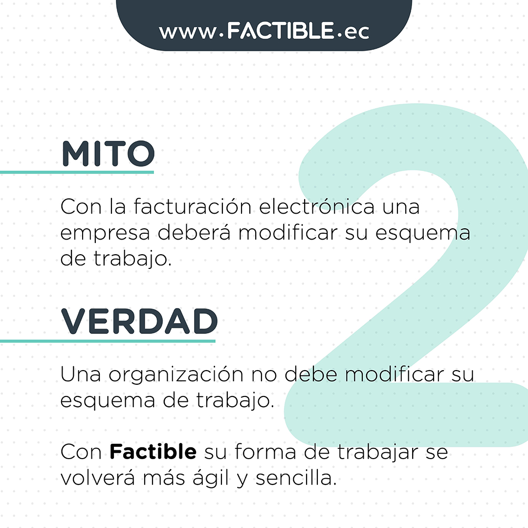 Mitos y verdades Facturación electrónica Ecuador