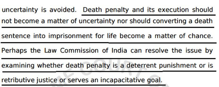 why did the law commission recommend abolition of death penalty law commission recommendations on death penalty in 2