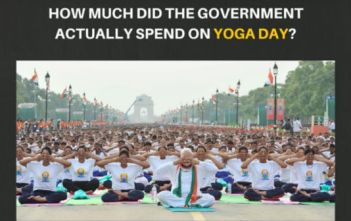 How much did the Government actually spend on the Yoga day Video Featured Image