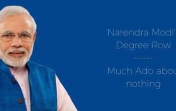 Narendra Modi's Degree Row – Much Ado about nothing Video Featured Image