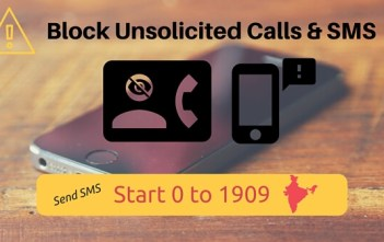 Block Unsolicited Commercial Calls and SMS factly.in