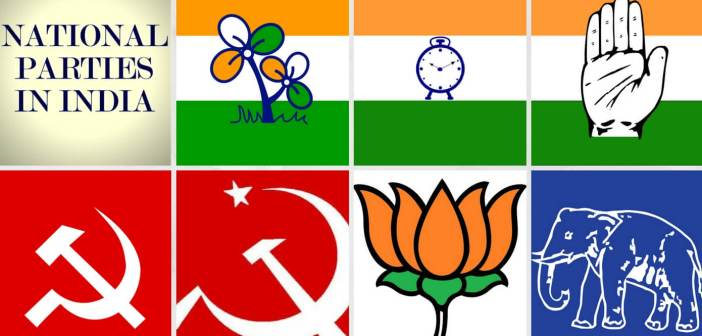 national parties in india collage