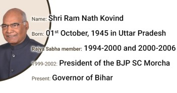 All you need to know about NDA's Presidential candidate 'Shri Ram Nath Kovind'