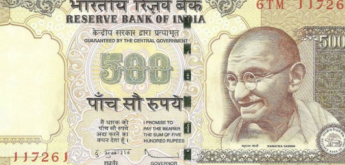 What is the amount of Fake Currency detected after Demonetization?