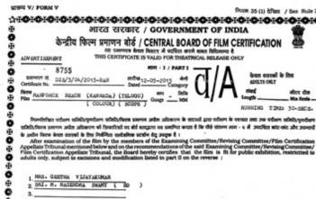 A-rated films in India_factly