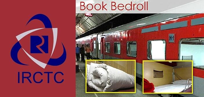 Railways now launch take away Bedrolls  Factly