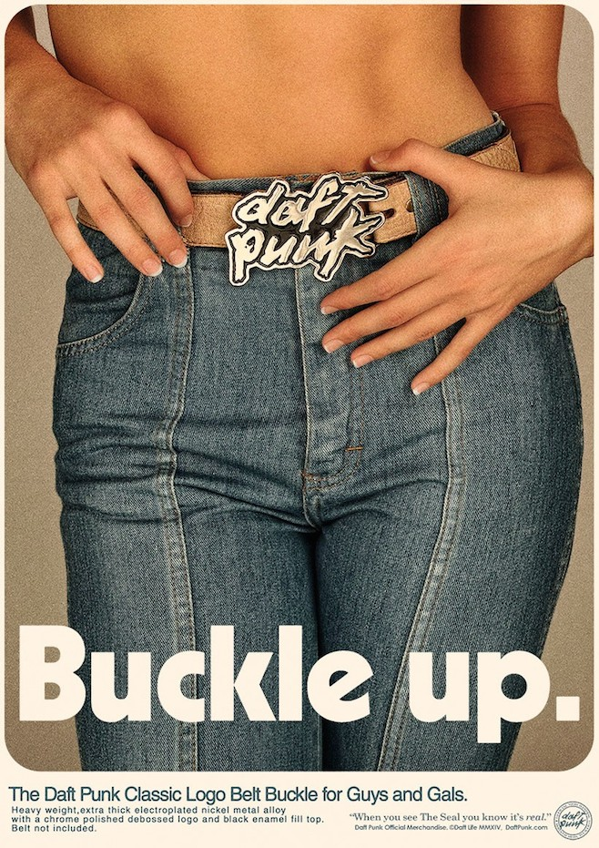 Check out Daft Punks 70s inspired posters advertising