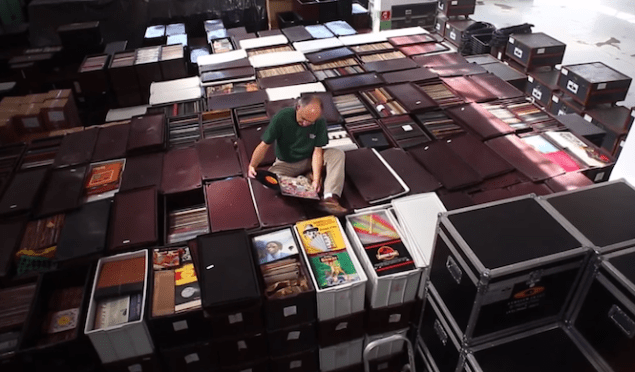Worlds biggest record collection to become listenable archive