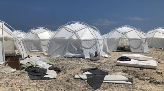 """Fyre Festival organizer admits """"we were a little naive"""" after chaos at  luxury event"""