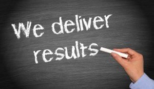We Deliver Results!