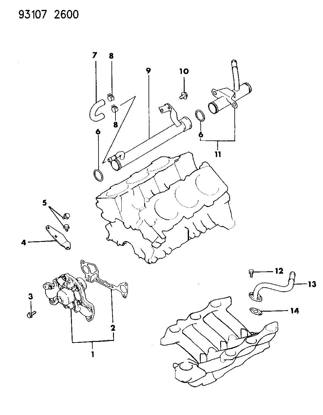 1993 Chrysler Lebaron 3.0L V6 SMPI, 4-Speed Automatic