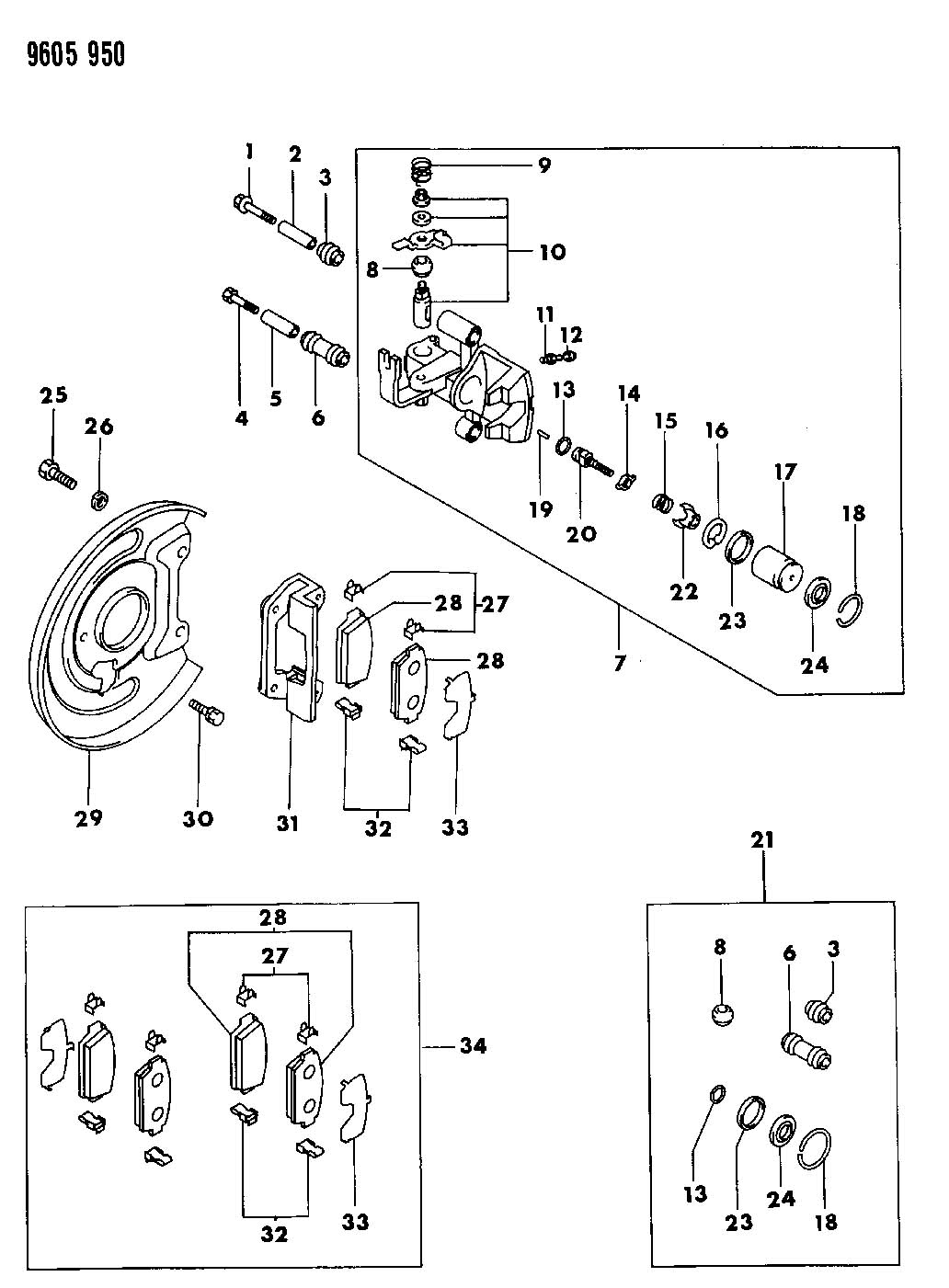 Service manual [1992 Plymouth Laser How To Adjust Parking