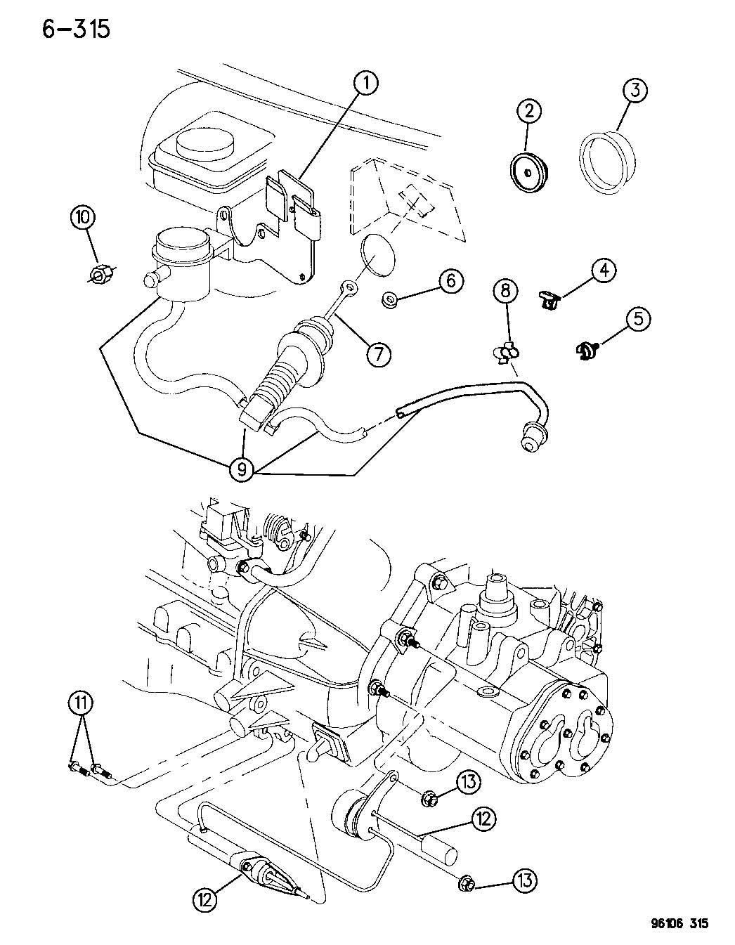 Controls Master Cylinder Amp Slave Cylinder Hydraulic