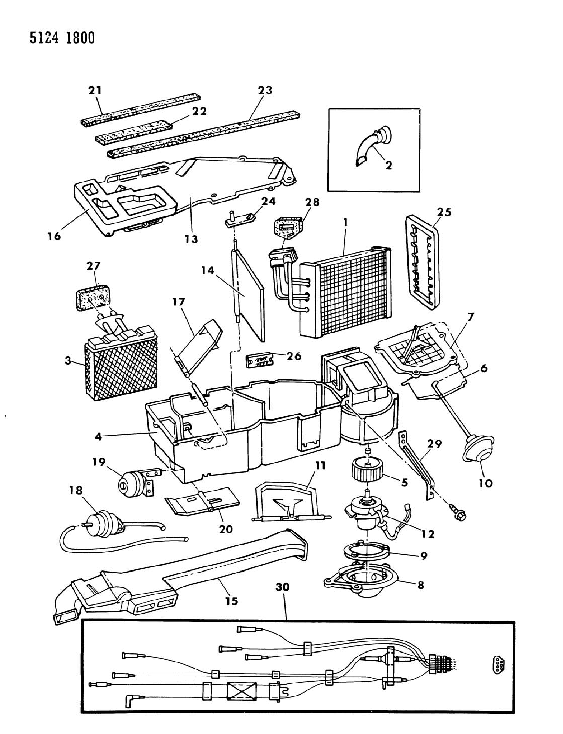 AIR CONDITIONER AND HEATER UNIT H,K