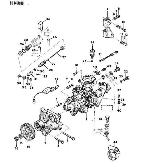 small resolution of 86 jeep comanche fuel filter 86 get free image about wiring diagram 1987 jeep wrangler vacuum line diagram 1987 jeep wrangler 4wd vacuum diagram