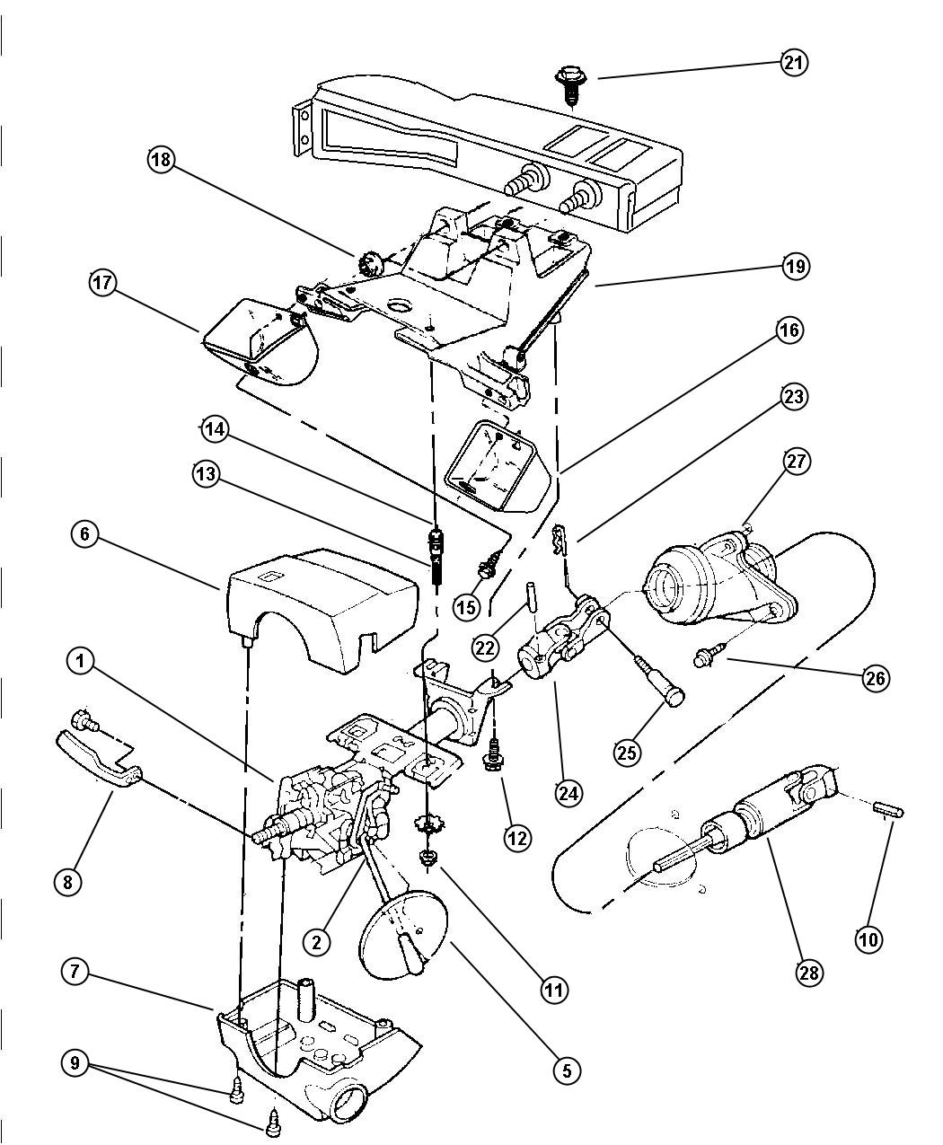 Service manual [Steering Column Removal 1974 Citroen Cx
