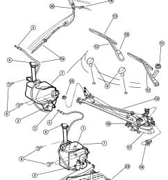 service manual 1997 plymouth breeze windshield washer [ 1050 x 1277 Pixel ]