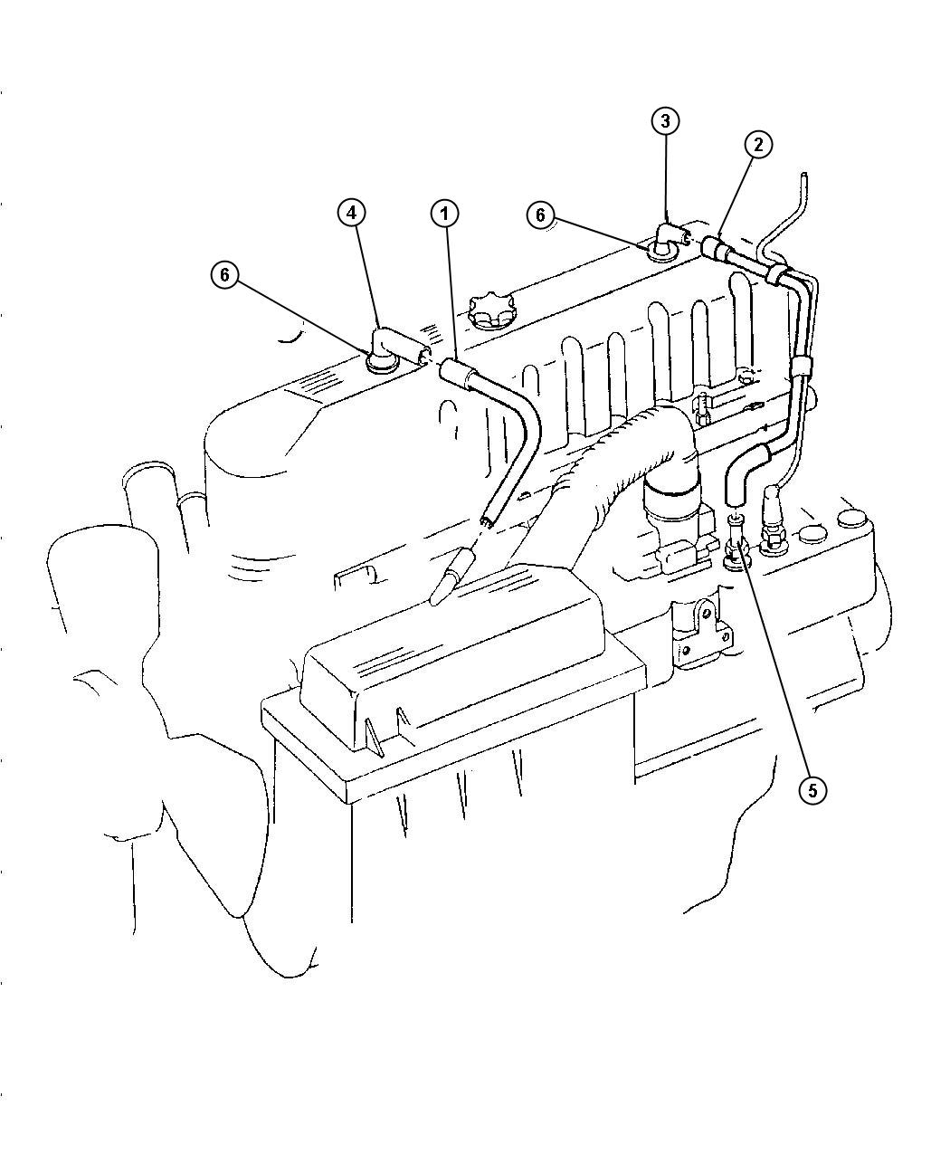 Dodge Crankcase Ventilation