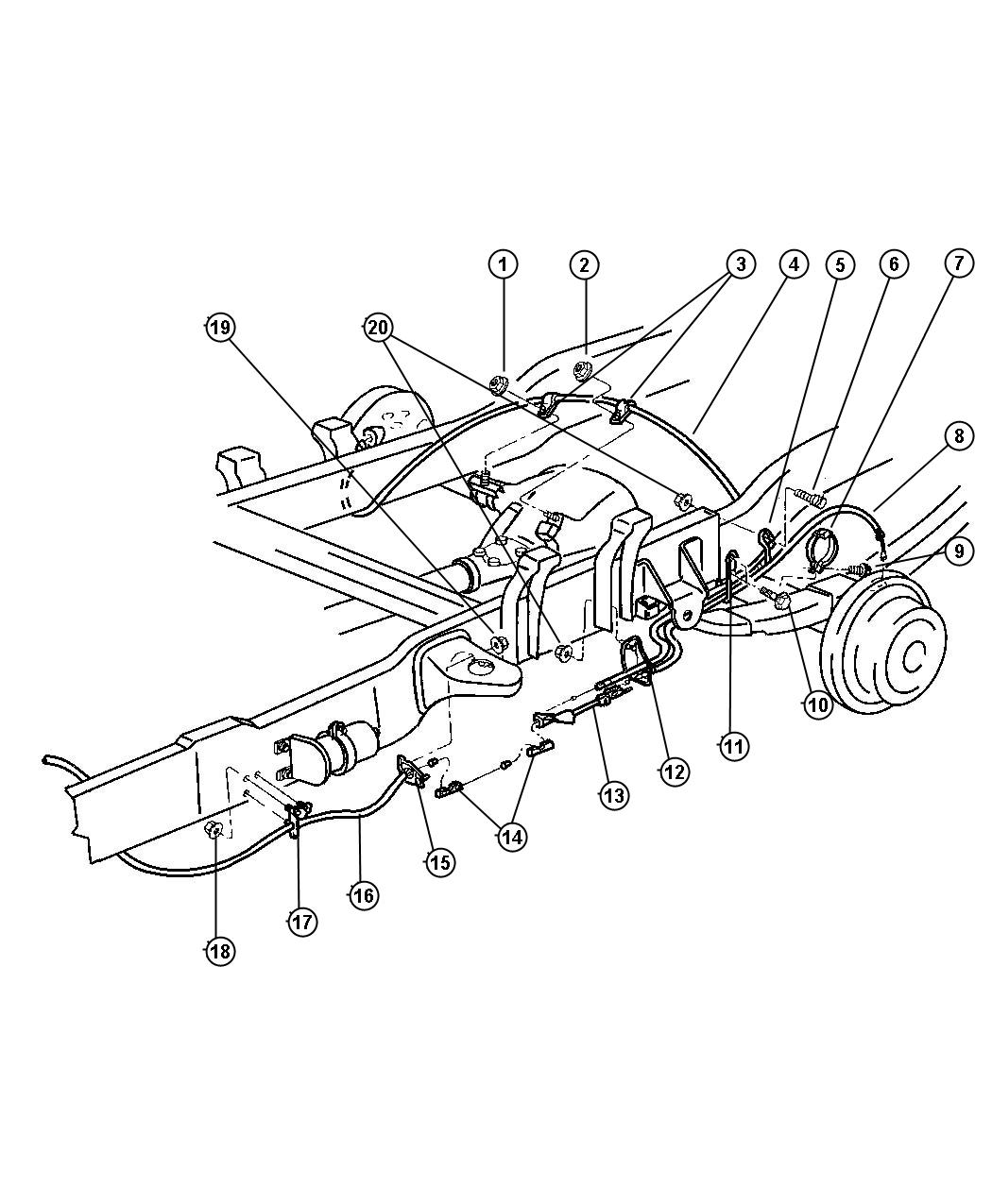 1999 Dodge Ram 1500 Brake Line Diagram Pictures to Pin on